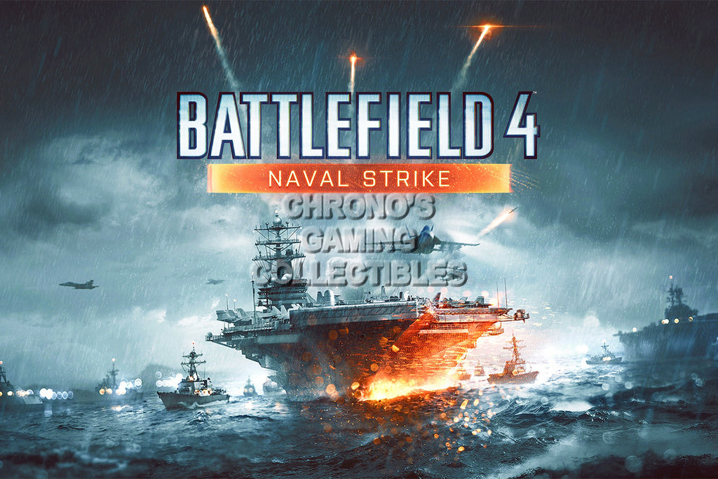 CGC Huge Poster - Battlefield 4 Naval Strike - PS3 PS4 XBOX 360 ONE - BAF018