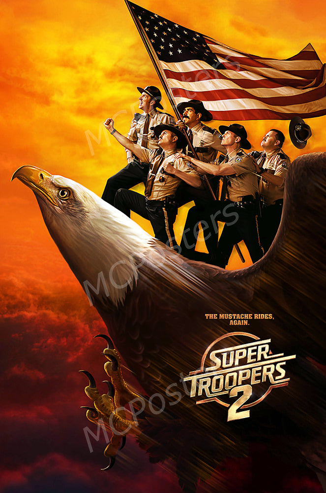 MCPosters - Super Troopers 2 GLOSSY FINISH Movie Poster - FIL989