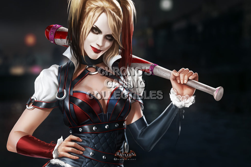 CGC Huge Poster - Batman Arkham Knight - PS4 XBOX ONE - Harley Quinn - BAT028