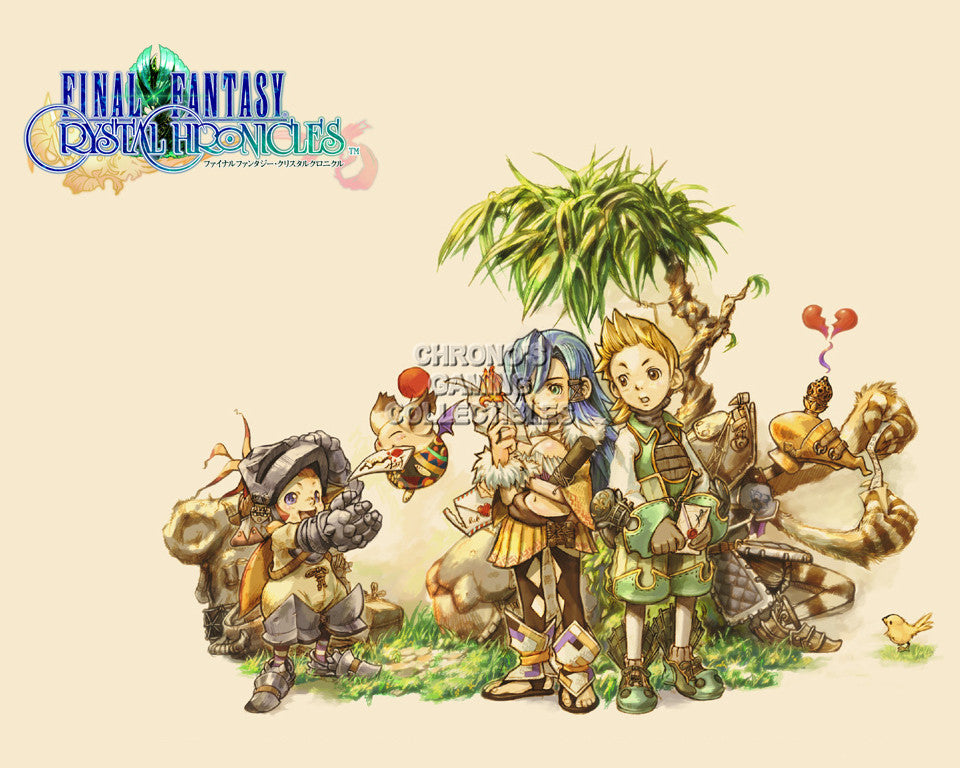 CGC Huge Poster - Final Fantasy Crystal Chronicles Nintendo GameCube Wii DS - FCC002