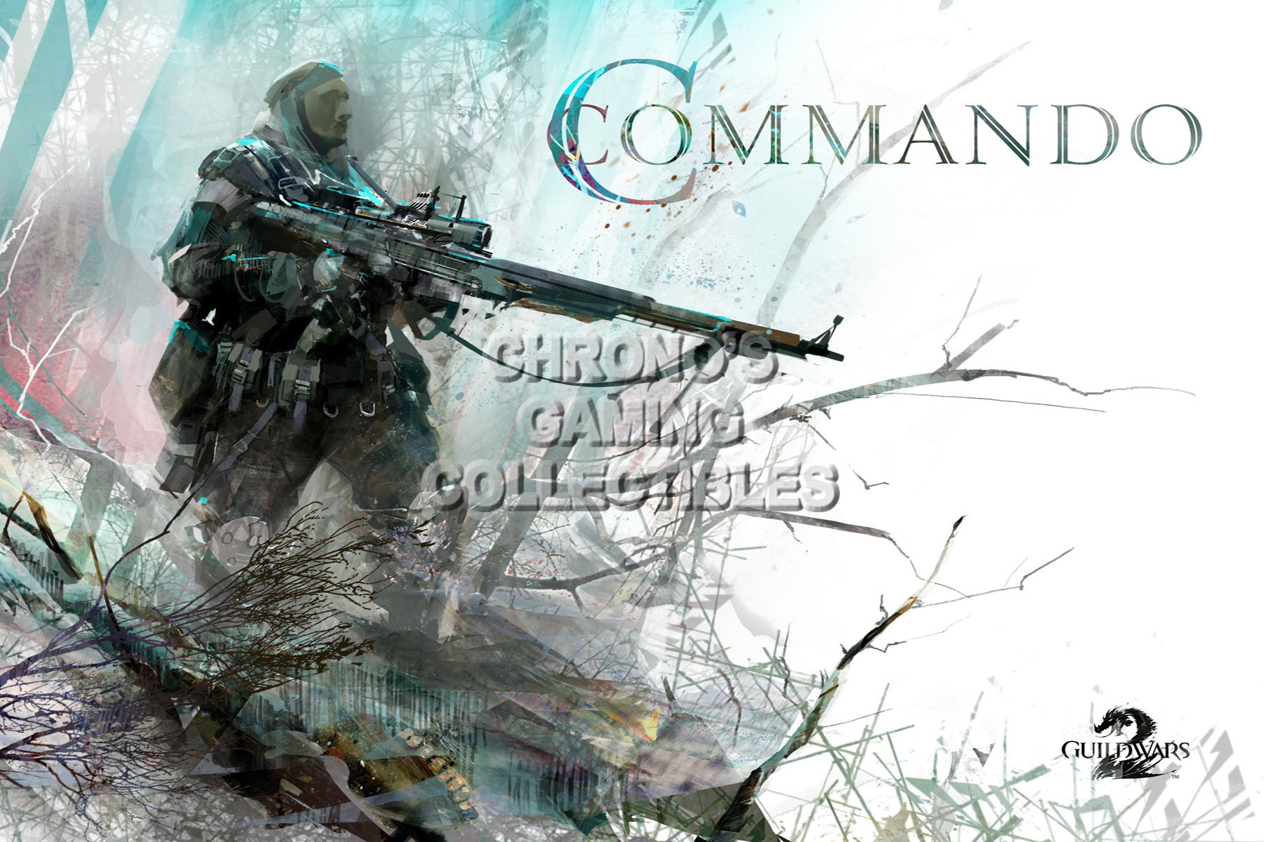 CGC Huge Poster - Guild Wars 2 - Commando - GUI020