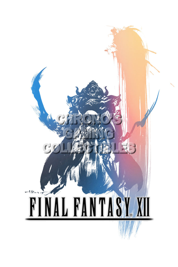 CGC Huge Poster - Final Fantasy XII PS2 - FXII008