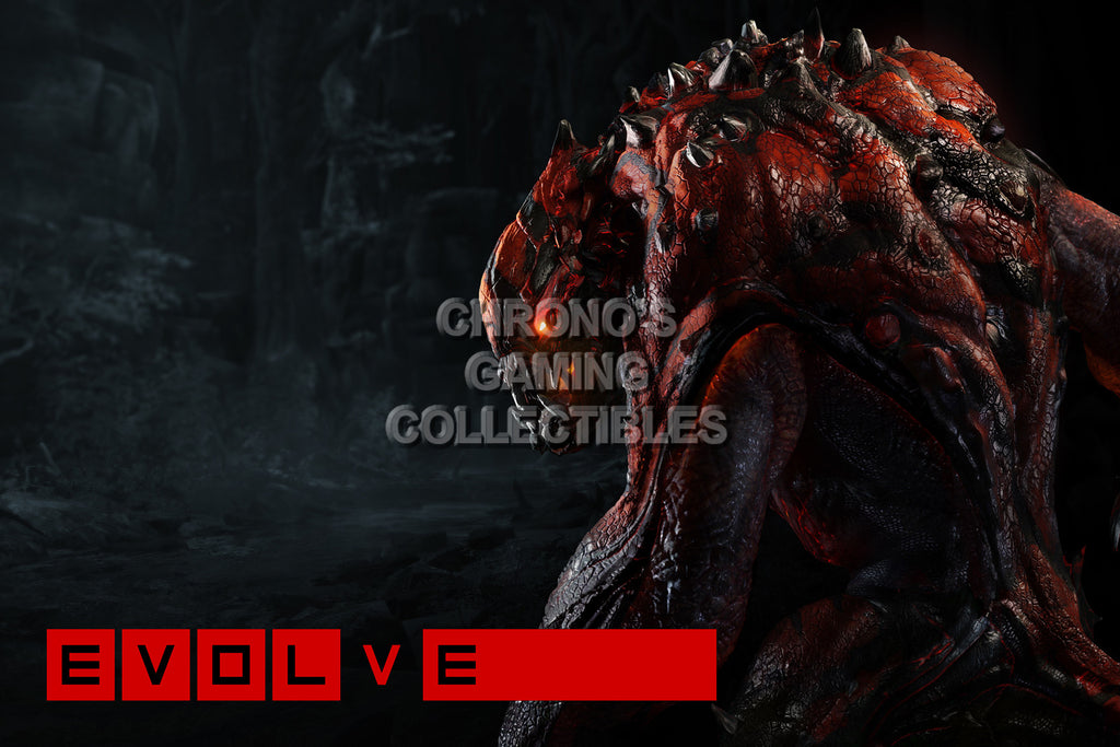 CGC Huge Poster - Evolve Goliath - PS4 XBOX ONE - EVO010