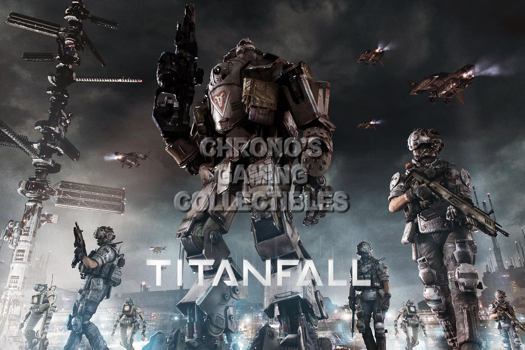 CGC Huge Poster - Titanfall - XBOX 360 ONE PC - TAN005
