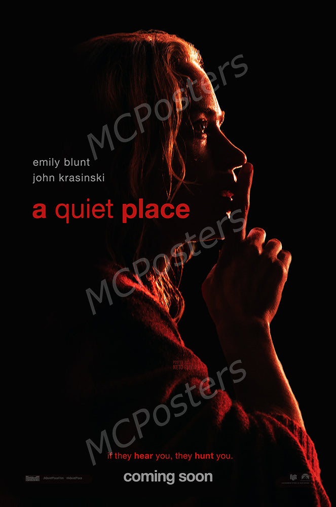 MCPosters - A Quiet Place GLOSSY FINISH Movie Poster  - FIL981
