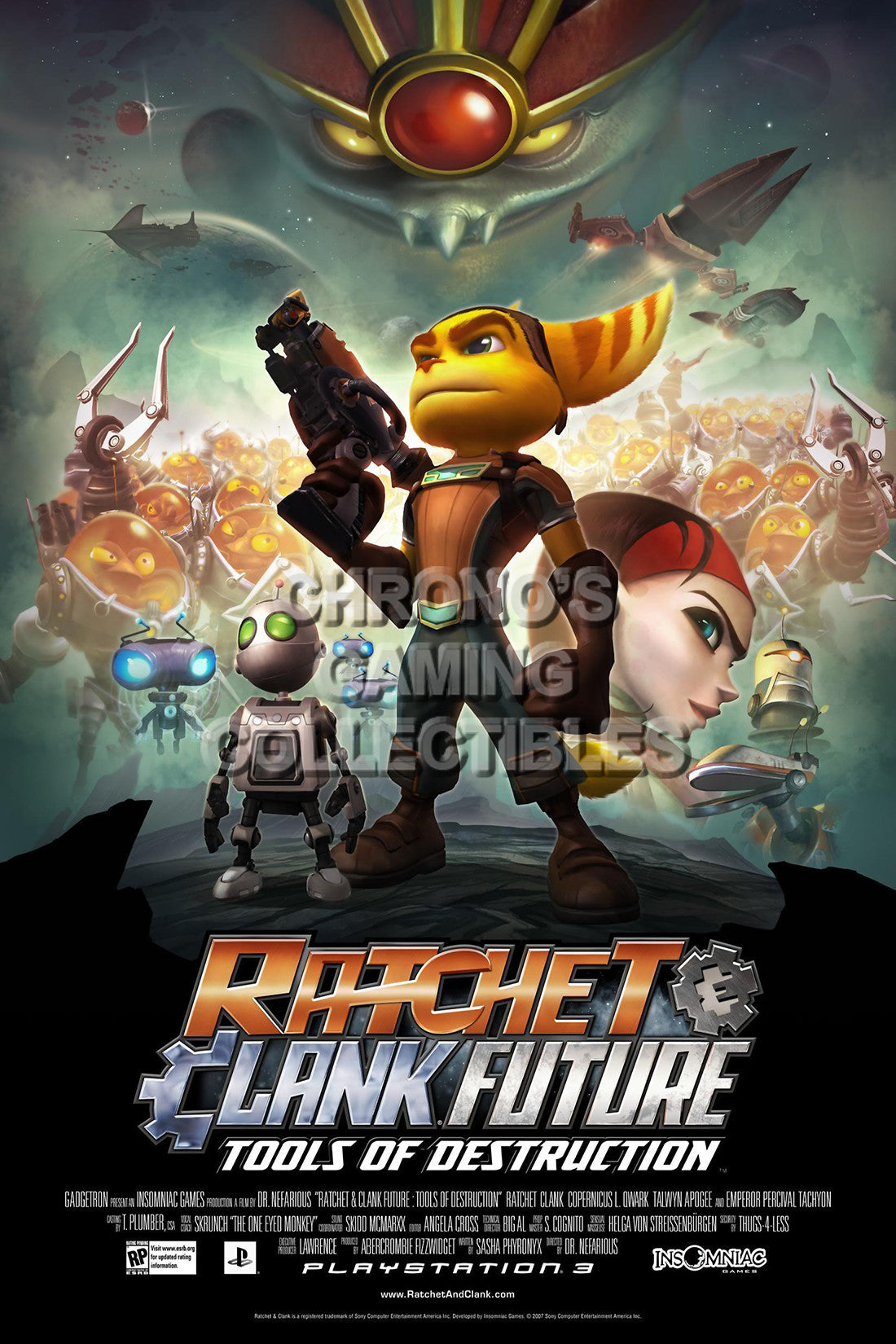 Ratchet Clank Video Games Poster Cgcposters