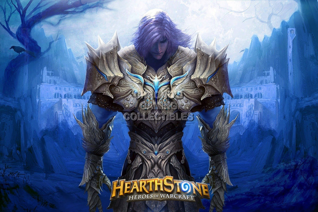 CGC Huge Poster - Hearthstone Heroes of Warcraft Paladin - HEA006
