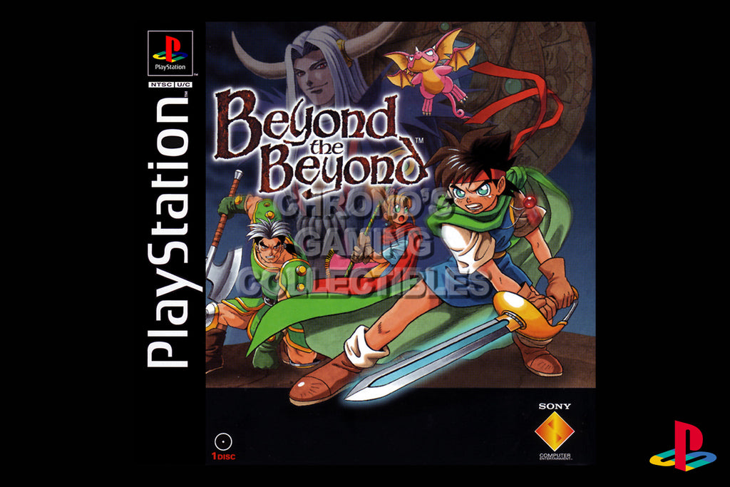 CGC Huge Poster - Beyond the Beyond - Playstation PS1 PSX - PSX005