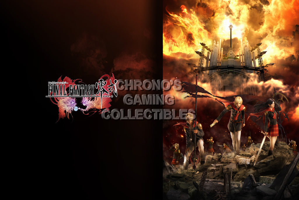 CGC Huge Poster - Final Fantasy Type-0 Zero PS3 PS4 XBOX 360 One - FTZ007