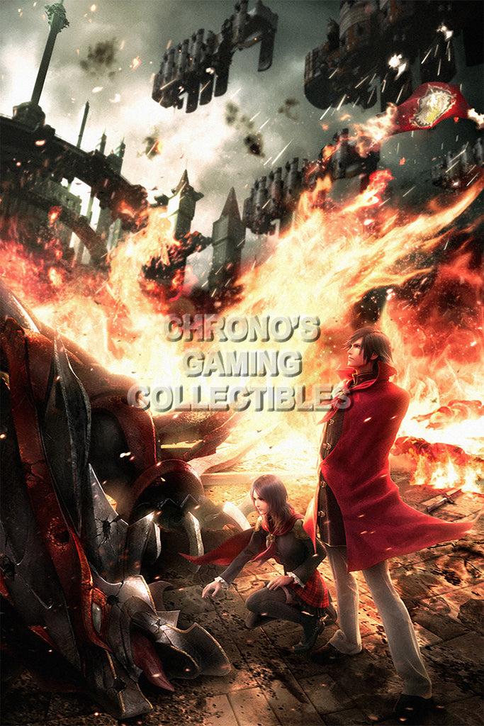 CGC Huge Poster - Final Fantasy Type-0 Zero PS3 PS4 XBOX 360 One - FTZ004
