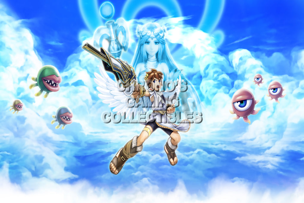 CGC Huge Poster - Kid Icarus Uprising - Nintendo 3DS - KID002