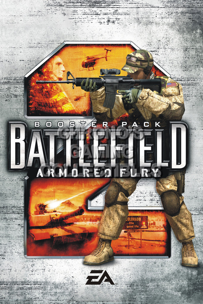 CGC Huge Poster - Battlefield 2 Armored Fury PC - BAF002