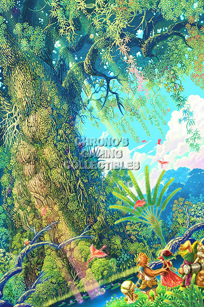 "CGC Huge Poster - Secret of Mana Super Nintendo SNES Art - SOM004 (16"" X 24"")"