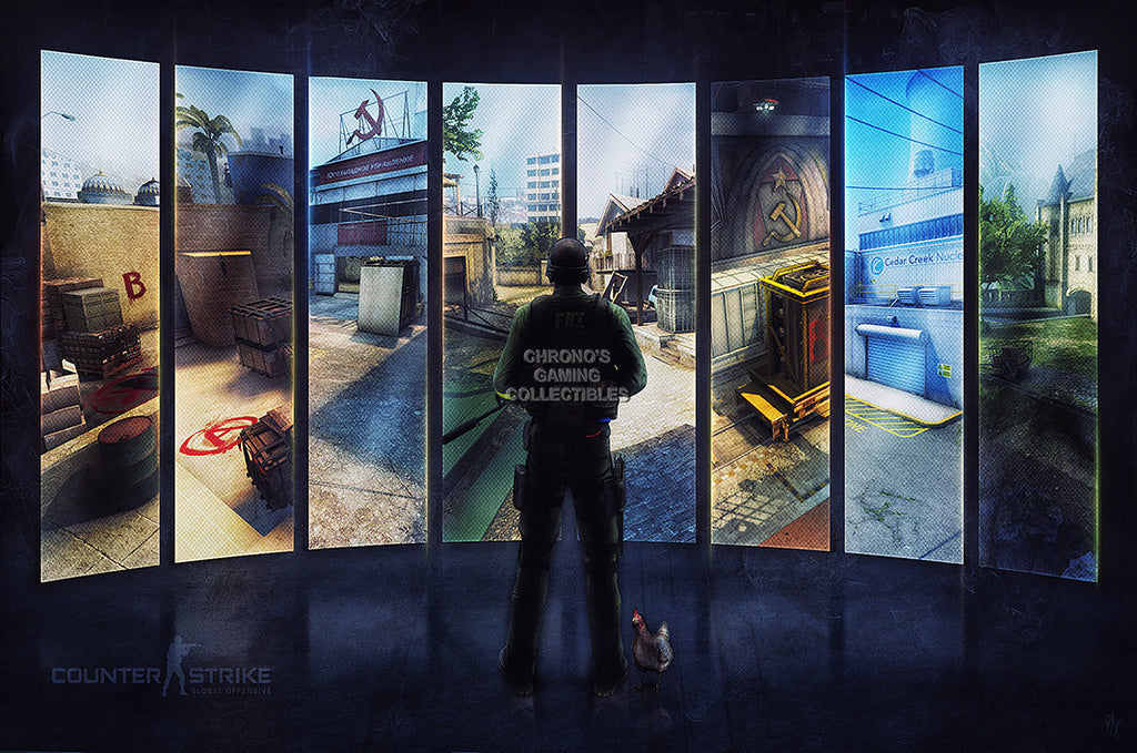 CGC Huge Poster GLOSSY FINISH - Counter Strike Global Offensive PC - EXT581