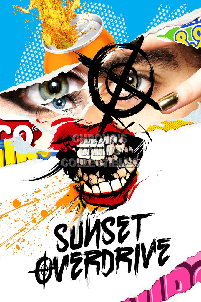 CGC Huge Poster - Sunset Overdrive XBOX ONE - SUN007