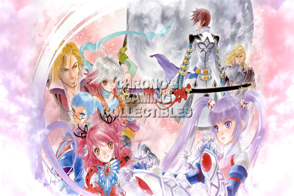 CGC Huge Poster - Tales of Graces F - Nintendo Wii PS3 - TAL013