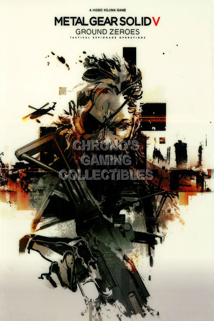 "CGC Huge Poster - Metal Gear Solid 5 PS4 - MGS501 (16"" X 24"")"