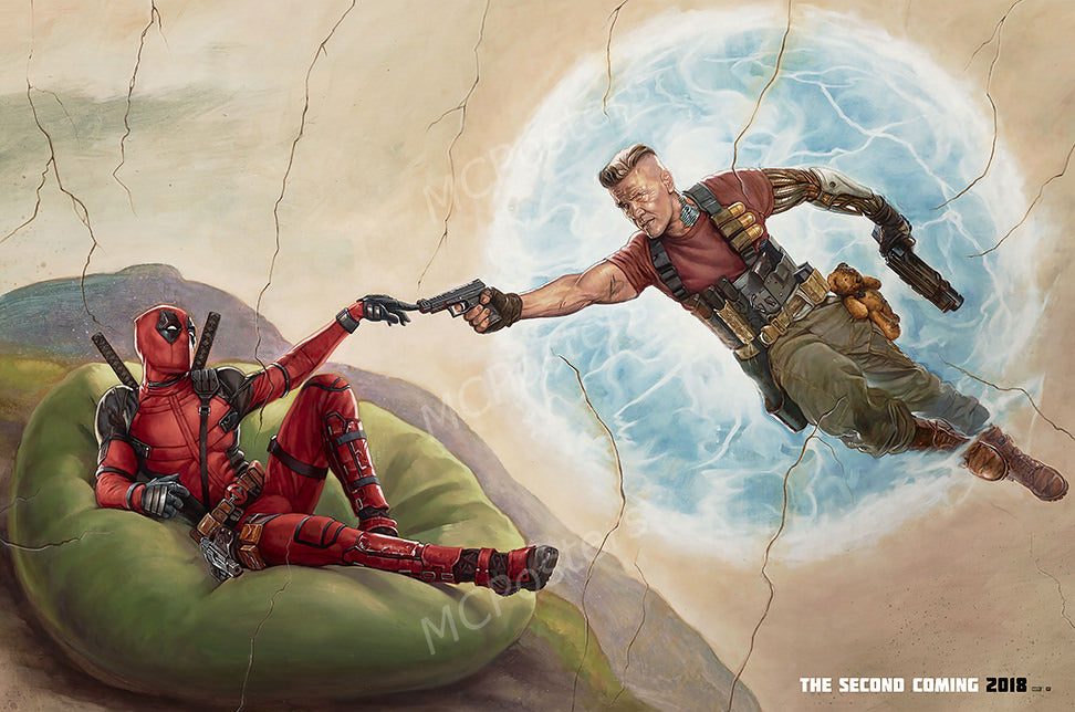 MCPosters - Marvel Deadpool 2 GLOSSY FINISH Movie Poster - FIL987