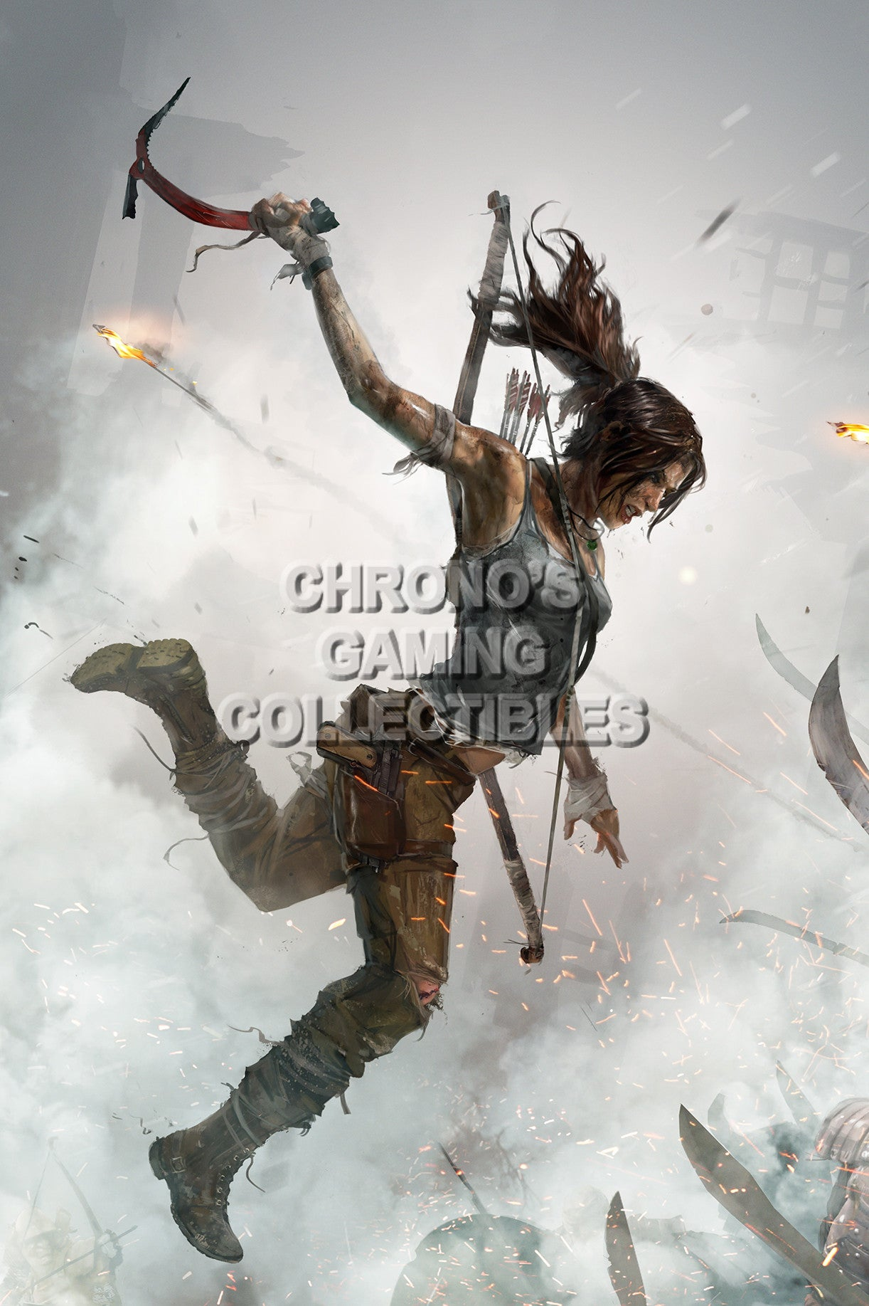 Tomb Raider Lara Croft Xbox One PS3 PS4 PC Game Giant Poster