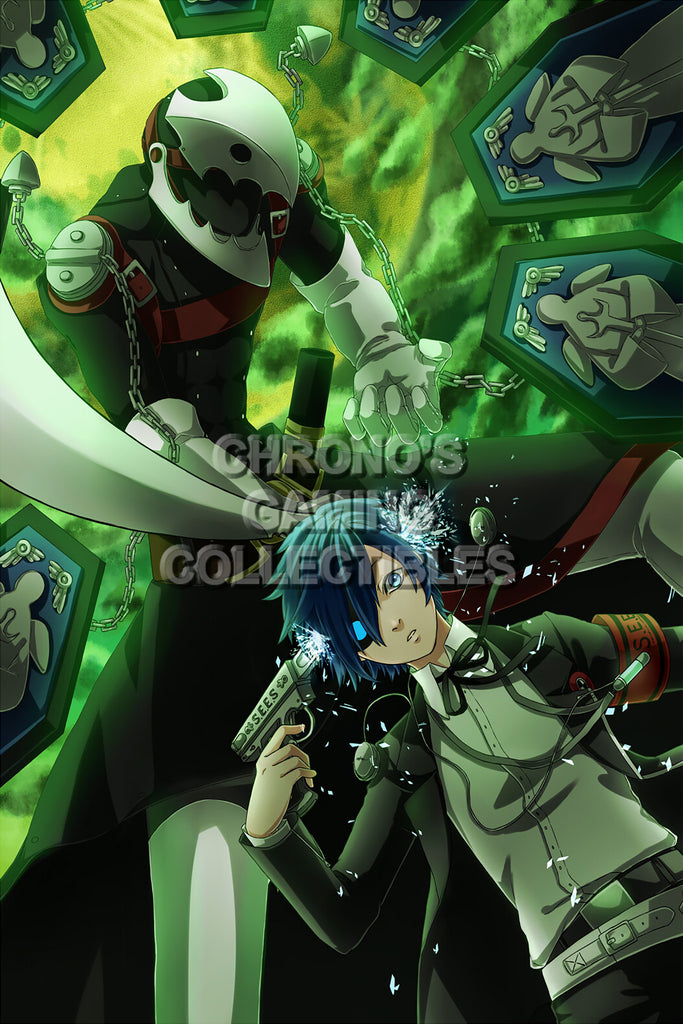CGC Huge Poster - Persona 3 PS2 PSP - PER301