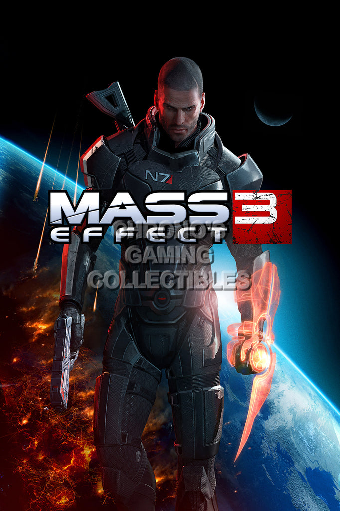 CGC Huge Poster - Mass Effect 3 PS3 XBOX 360 PC - MAS034
