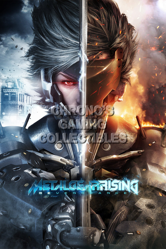 CGC Huge Poster - Metal Gear Rising Revengeance PS3 XBOX 360 - MGR010