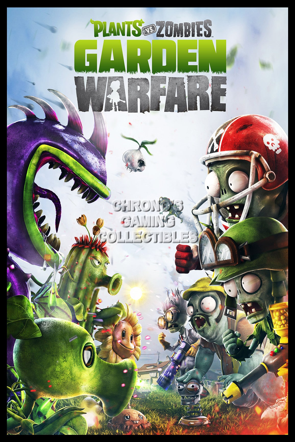 Plants vs zombies garden warfare video games poster - Plants vs zombies garden warfare xbox one ...