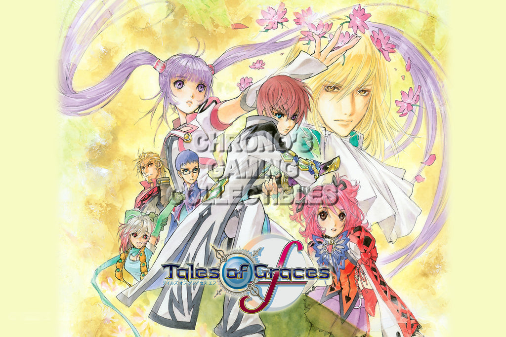 CGC Huge Poster - Tales of Graces F - Nintendo Wii PS3o - TAL014