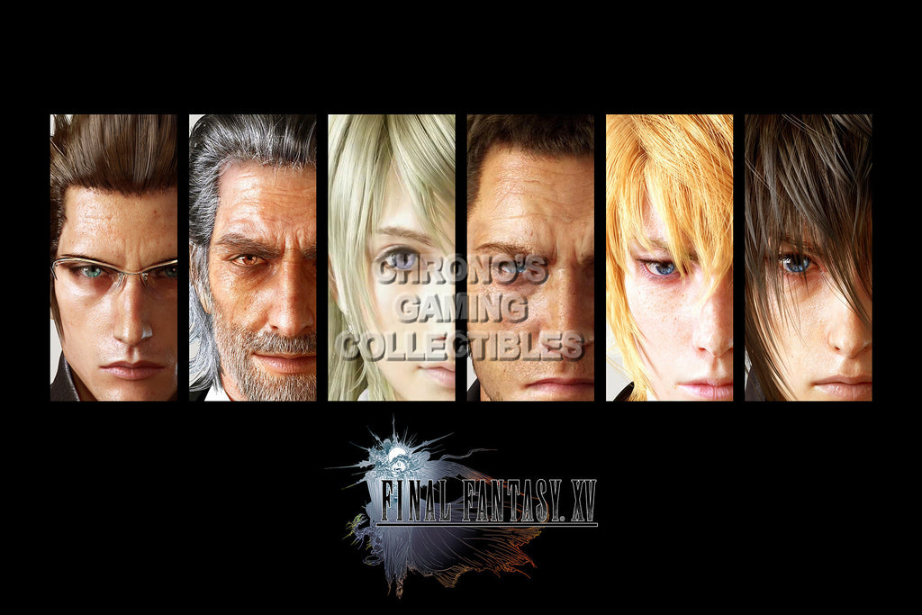 CGC Huge Poster - CFinal Fantasy XV - Characters - FFXV004