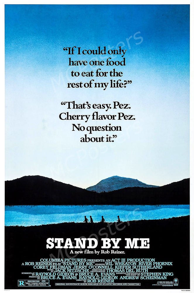 MCPosters - Stand By Me GLOSSY FINISH Movie Poster - MCP913