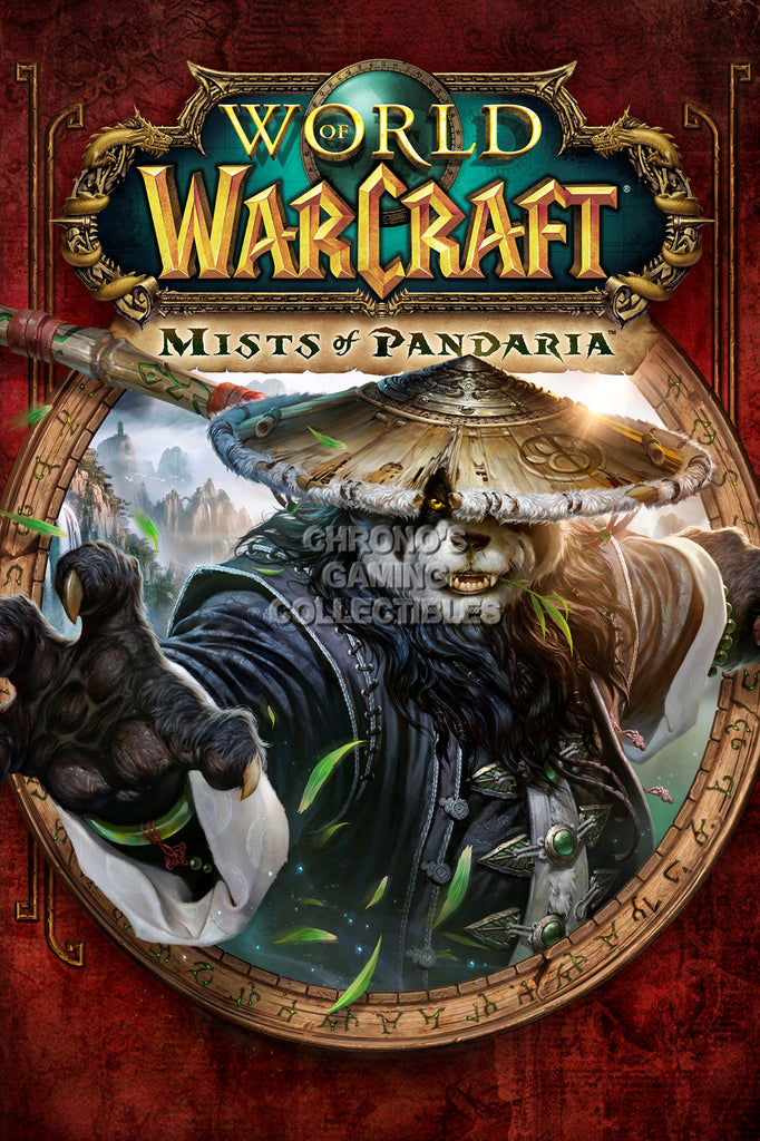CGC Huge Poster - World of Warcraft Mists of Pandaria BOX ART PC - EXT179