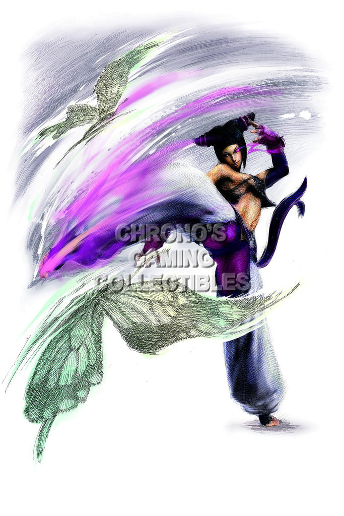 CGC Huge Poster - Street Fighter IV   Juri-Han - STR045