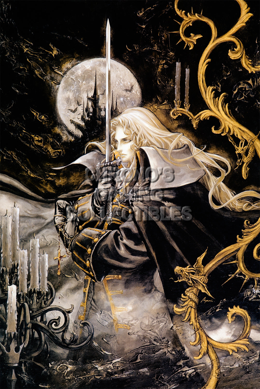 Castlevania Video Games Poster Cgcposters