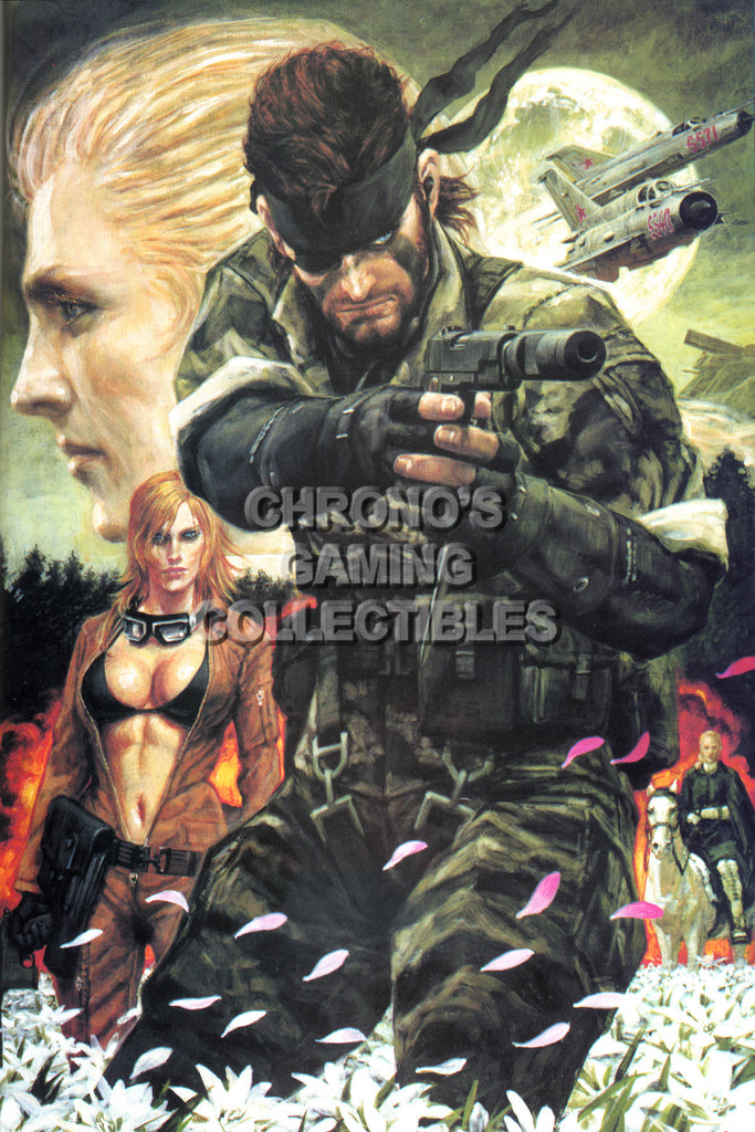 CGC Huge Poster - Metal Gear Solid 3 PS2 PS3 - MGS307