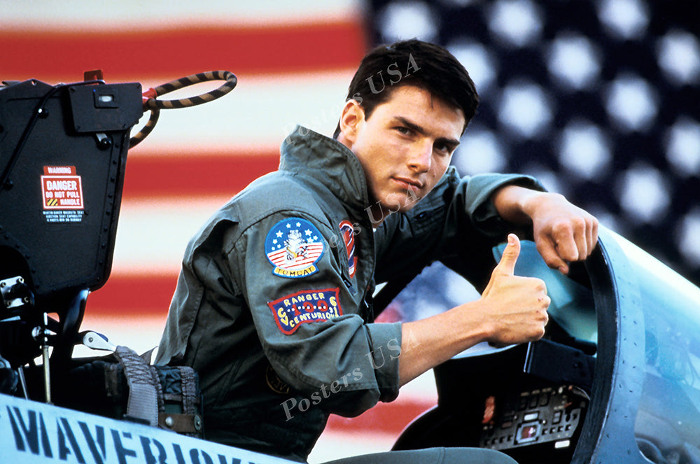 Posters USA - Tom Cruise Top Gun Movie Poster GLOSSY FINISH - FIL176