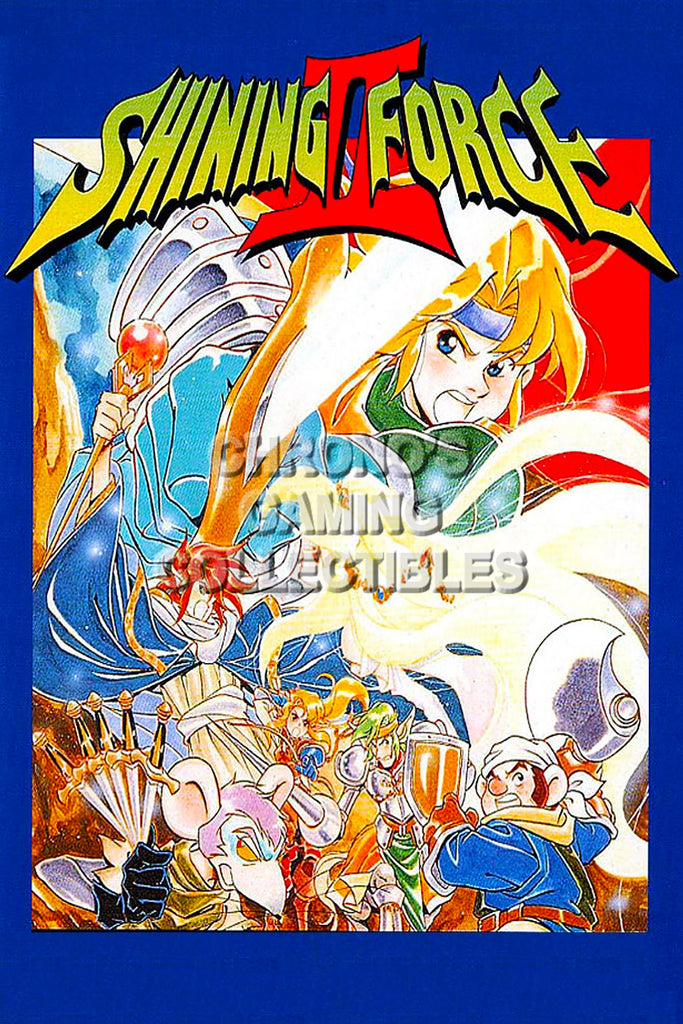 CGC Huge Poster - Shining Force Sega Genesis - SHF011