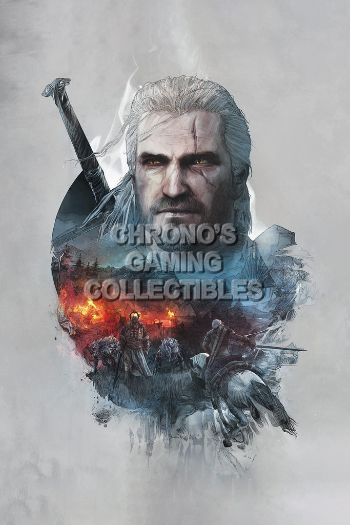 CGC Huge Poster - Witcher III PS4 XBOX ONE PC  - WIT003