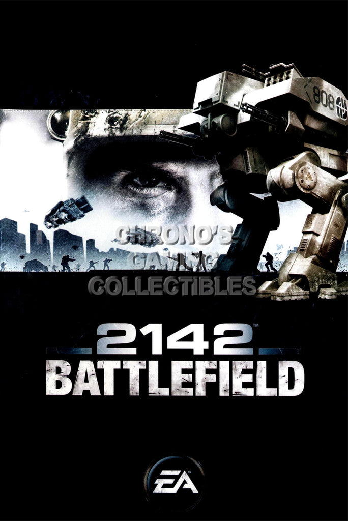 CGC Huge Poster - Battlefield 2142 PC - BAF020