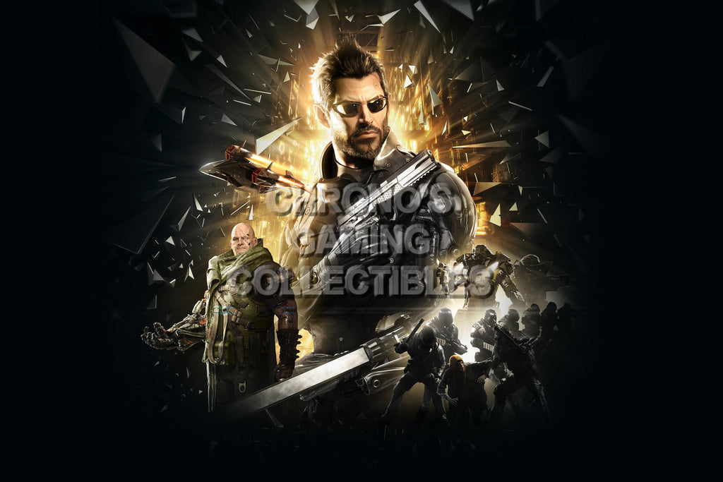 CGC Huge Poster - Deus Ex Mankind Divided - PS3 PS4 XBOX 360 ONE - DEU011