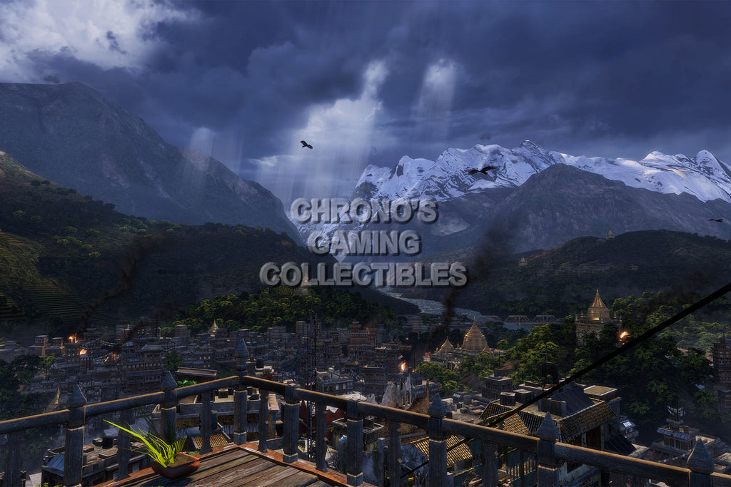 CGC Huge Poster - Uncharted 2 Among Thieves - PS3 - UCH003