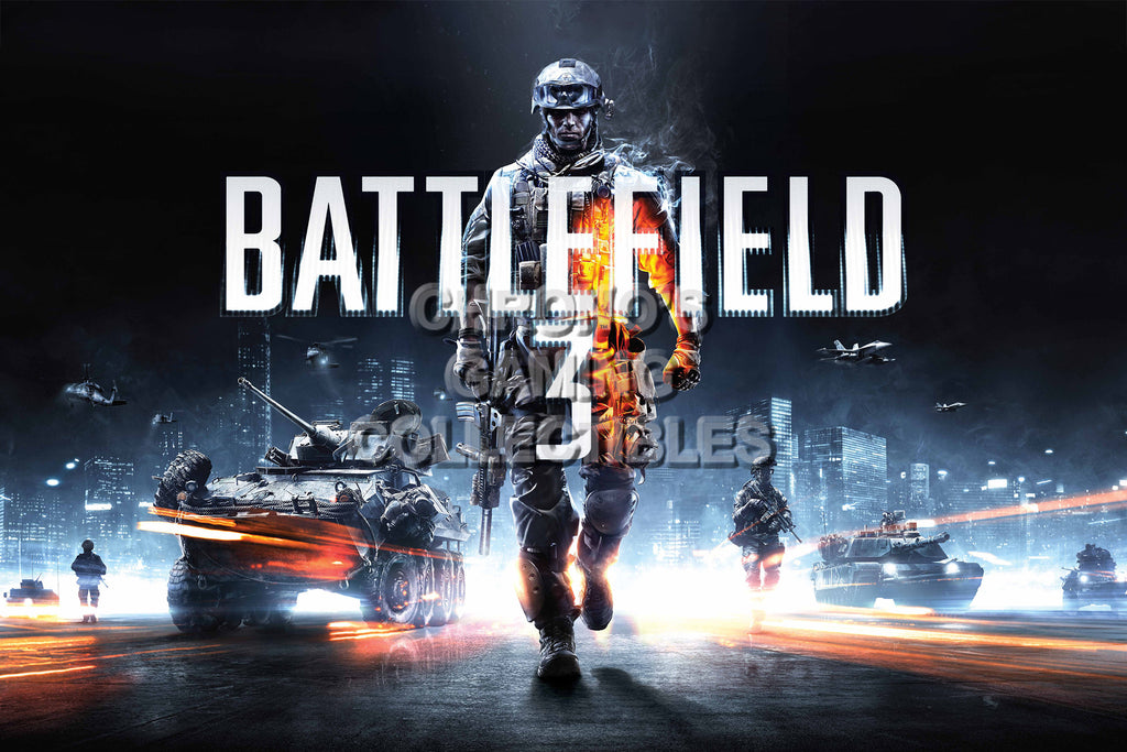 CGC Huge Poster - Battlefield 3 - PS3 XBOX 360 PC - BAF004