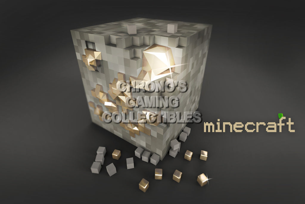 CGC Huge Poster - Minecraft Iron Block XBOX 360 ONE PS3 PS4 PC - MIC001