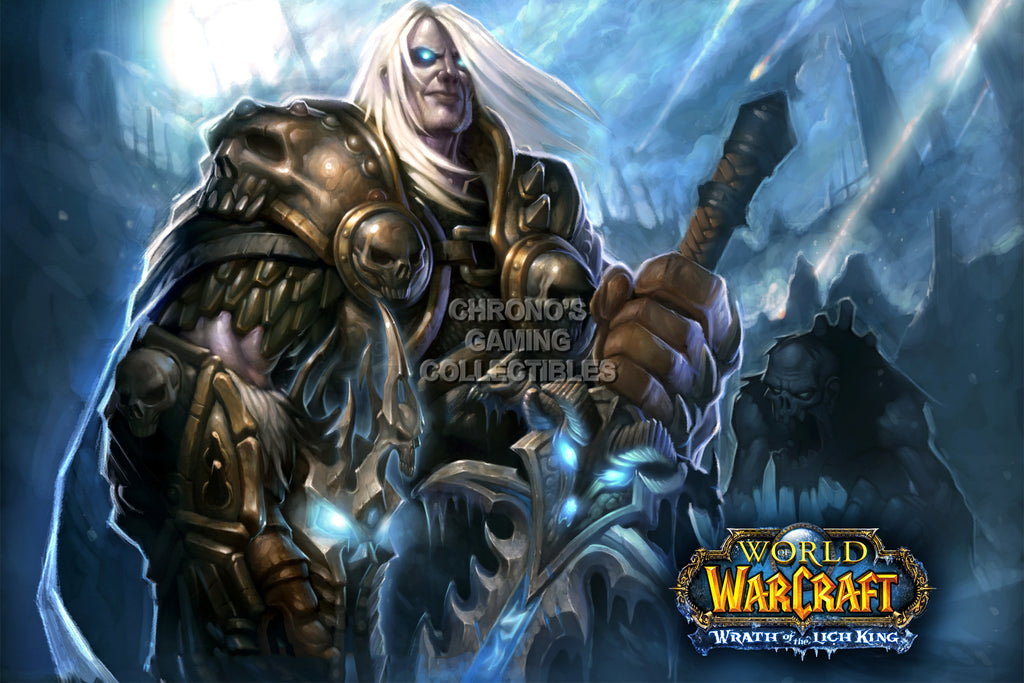 CGC Huge Poster - World of Warcraft Wrath of Lich King PC - EXT173
