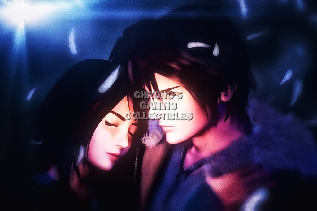 CGC Huge Poster - Final Fantasy VIII Squall and Rinoa PS1 PS2 PS3 PSP Vita - FVIII007