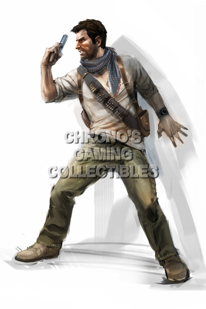CGC Huge Poster - Uncharted 3 Drake's Deception - PS3 - UCH015