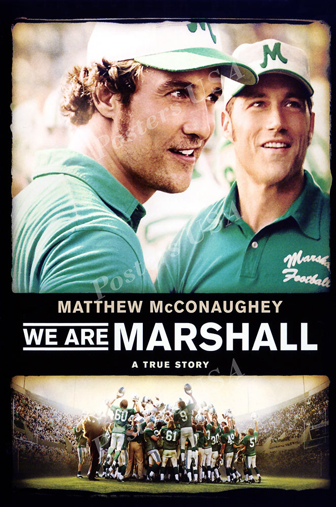 Posters USA - We Are Marshall Movie Poster GLOSSY FINISH - MOV995