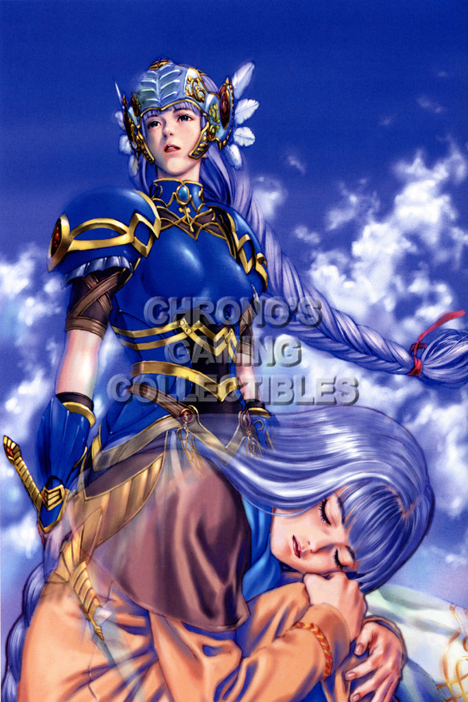 CGC Huge Poster - Valkyrie Profile PS1 PSP - VAL006