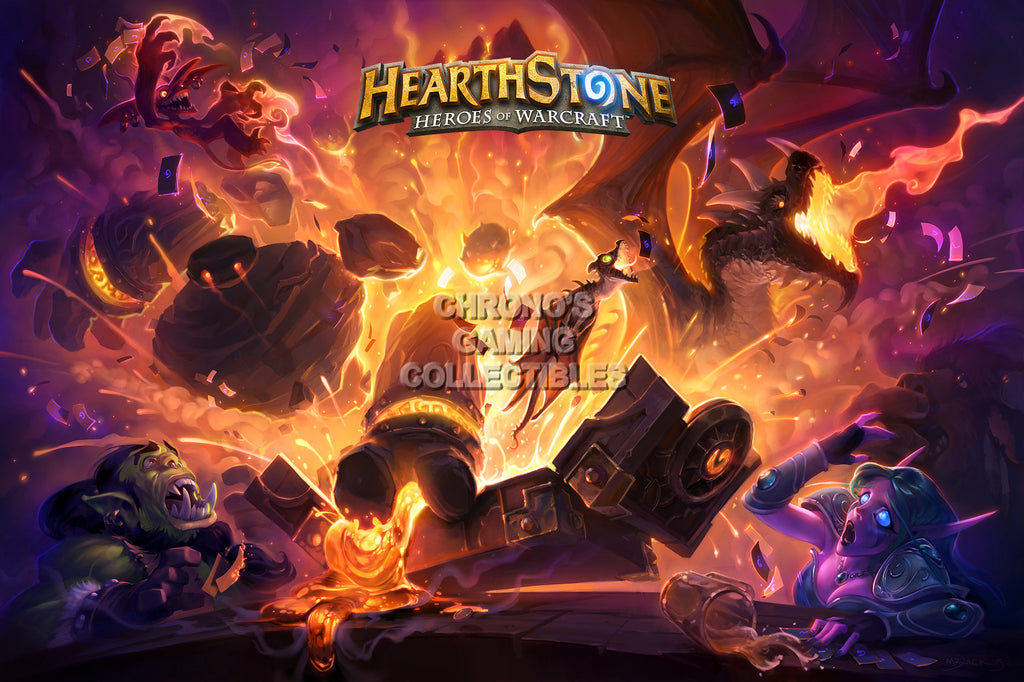 CGC Huge Poster - Hearthstone Heroes of Warcraft Blackrock MountainA - HEA003
