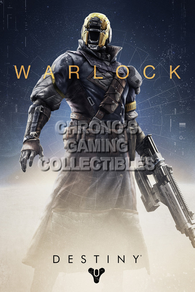 CGC HUGE POSTER - DESTINY Warlock Class SONY PS3 PS4 XBOX 360 ONE - DES038