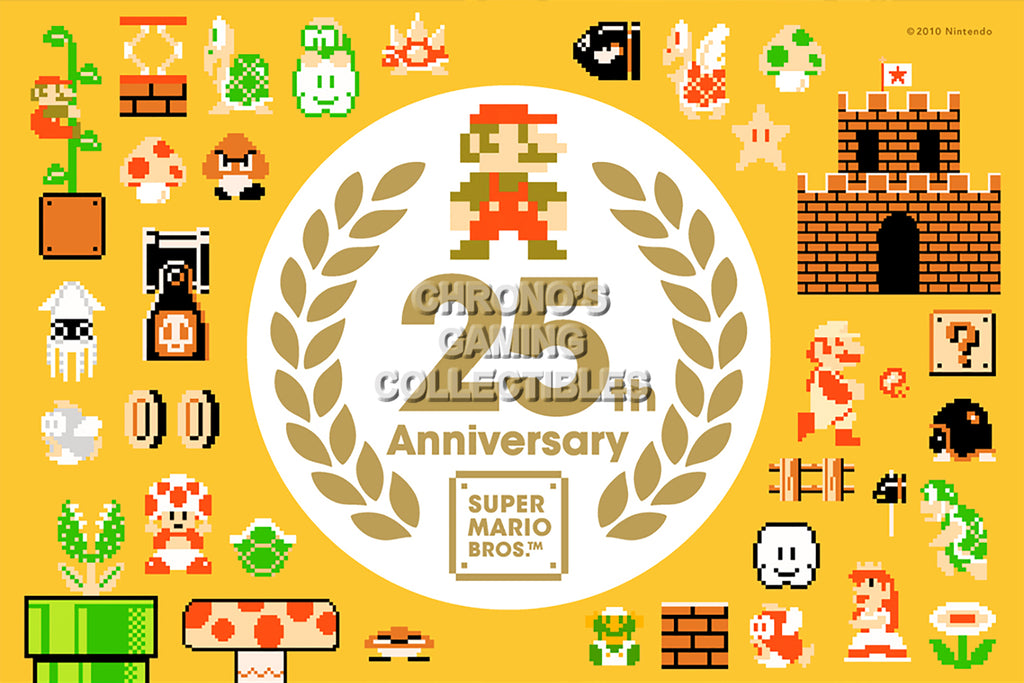 CGC Huge Poster - Mario 25th Anniversary - MAR018